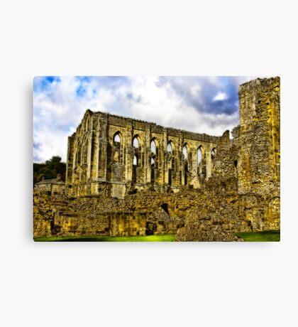 Rievaulx Abbey - North Yorkshire. Canvas Print