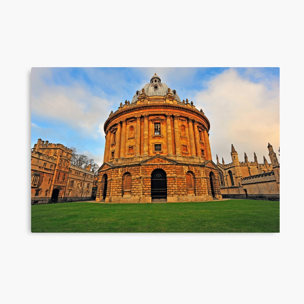 Oxford Bodleian Library Canvas Print