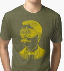 Vintage man in goggles Tri-blend T-Shirt