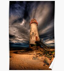 Abandoned Lighthouse Poster