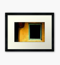 India: A Day in the Life of Varanasi #5 - Wall abstract Framed Print