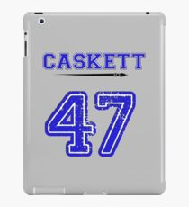 Caskett 47 Jersey iPad Case/Skin