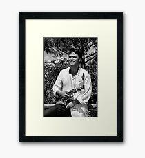 Alex Terrier Esb & ecstasy Framed Print