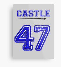 Castle 47 Jersey Metal Print