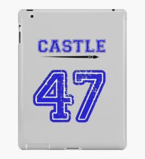 Castle 47 Jersey iPad Case/Skin