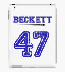 Beckett 47 Jersey iPad Case/Skin