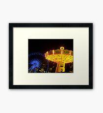 Fun Fair Framed Print