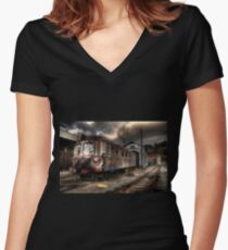 I used to carry dreams Women's Fitted V-Neck T-Shirt