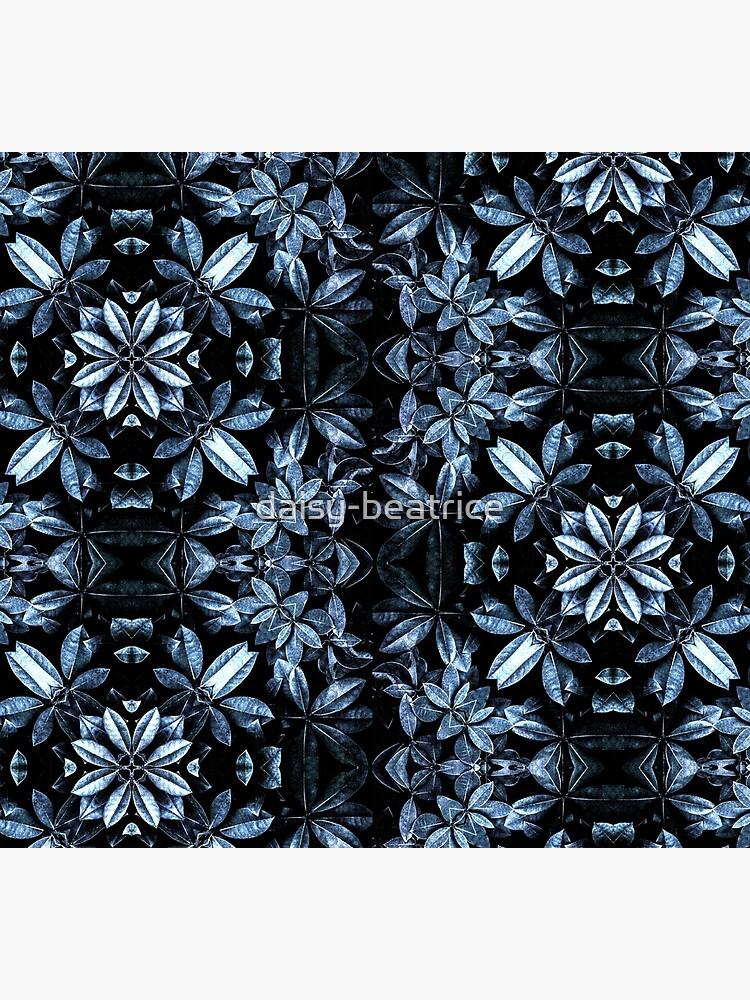 Metallic Leaves Mandala by daisy-beatrice