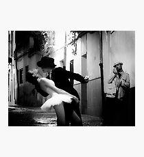 Tango in Xativa Photographic Print