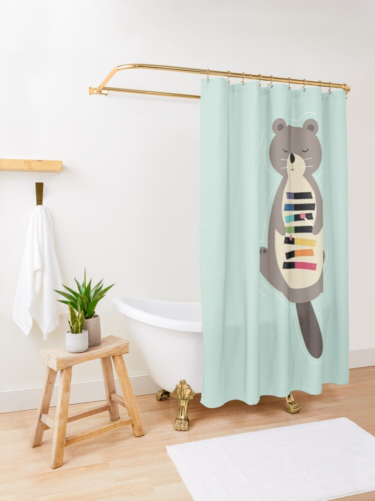 Alternate view of Be Pride Shower Curtain