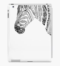 Pen and Ink Zebra iPad Case/Skin