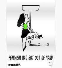 Crazy Feminist. Poster