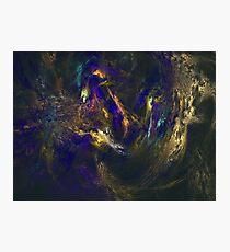 Abstract Lagoon Fractal Photographic Print