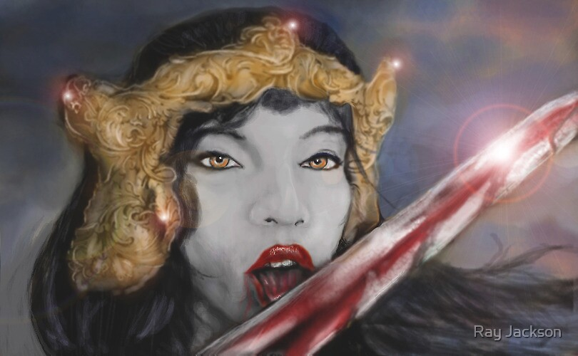 THE CRIMSON QUEEN! by Ray Jackson