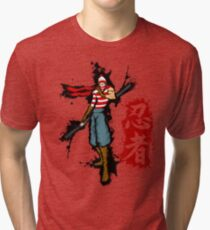 WTF is Waldo! Tri-blend T-Shirt