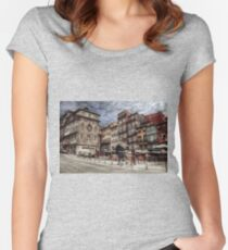 Downtown Women's Fitted Scoop T-Shirt