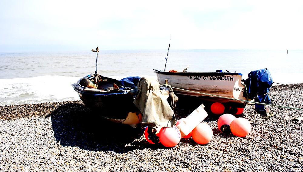 Two little boats.  by Ruth Jones