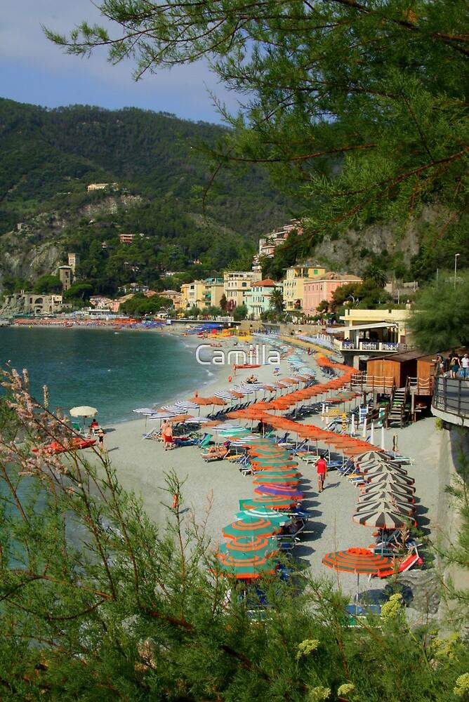 Monterosso Beach by Camilla
