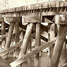 Old Rail Bridge by Sharon Woerner