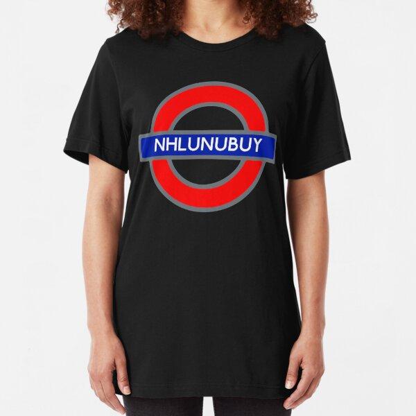 Nhulunbuy On The Tube Slim Fit T-Shirt