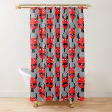Super Satan Shower Curtain