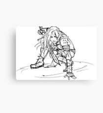 Dragonborn comes- sketch version Canvas Print