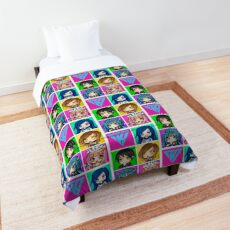 Funneh and the Krew - Anime Style Comforter