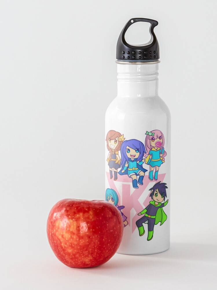 Alternate view of Funneh and the Krew Pink Water Bottle