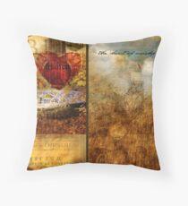 The Heart of Worship Throw Pillow