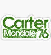 Jimmy Carter Mondale 1976 Sticker