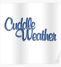 Póster Cuddle weather winter