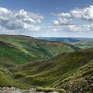 Grindbrook Clough: The Peak District by LazloWoodbine