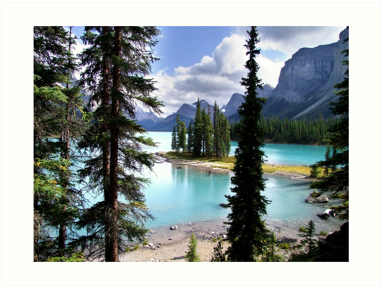Incomparable Maligne by George Cousins