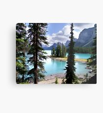 Incomparable Maligne Metal Print