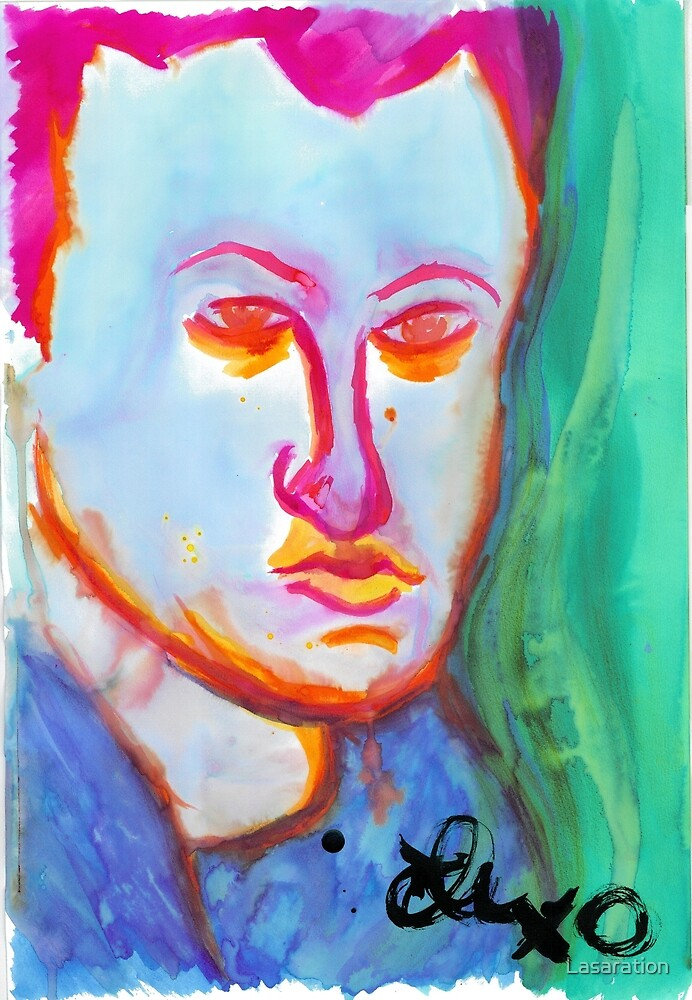 Self portrait by Lasaration