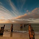 The Jetty before sun set by Ray Yang