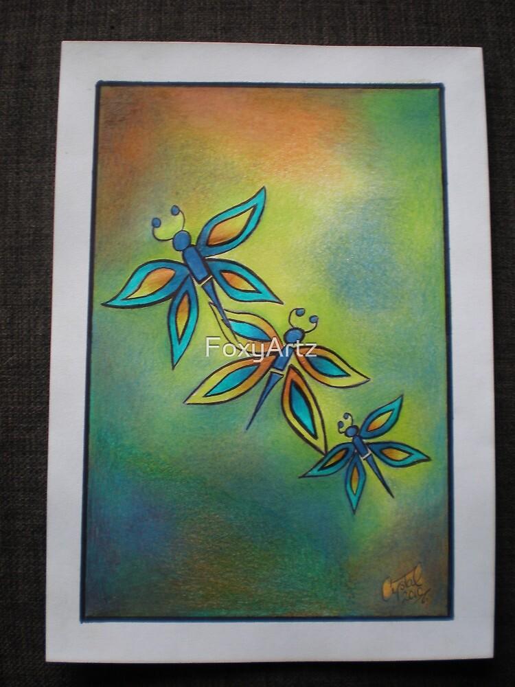 For the Love of Butterflies by FoxyArtz