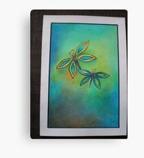 Butterfly lurve Canvas Print