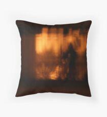 Golden Brown Throw Pillow