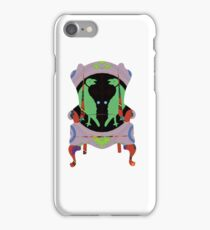 Decorated armchair iPhone Case/Skin