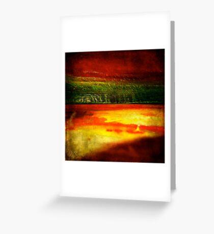 Horizontal Rainbow Greeting Card
