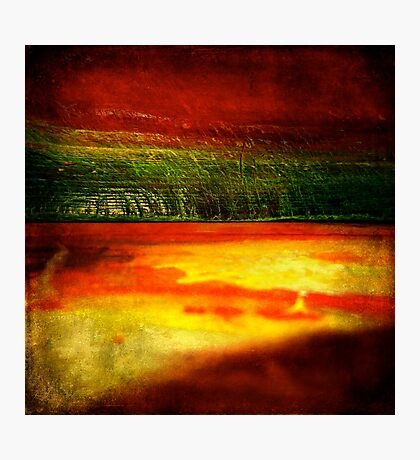 Horizontal Rainbow Photographic Print