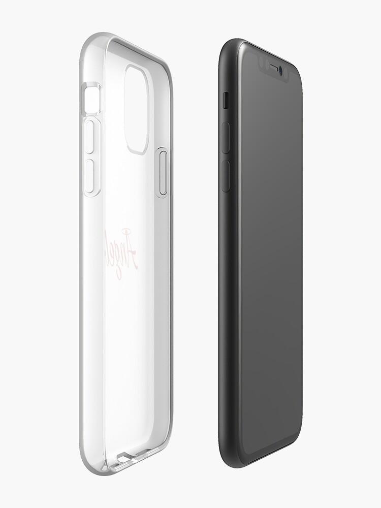 coque iphone xr 0 3 | Coque iPhone «Ange / Diable (Rouge)», par angelonlyshop