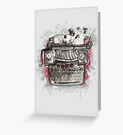 Non-Naked Lunch Greeting Card