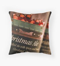 Tis' the Season! (for a Christmas Ale) Throw Pillow