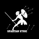 Wisdom Warrior - Spartan Stoic - Wisdom To Fight by StoicMagic