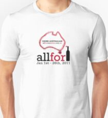 All For One Wine - January 2011 T-Shirt
