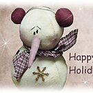 Fuzzy the Snowman by David Dehner
