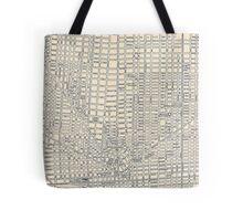 Vintage Map of Detroit Tote Bag